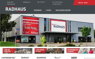 Radhaus Webseiten Screenshot