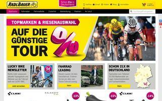 Radlbauer Webseiten Screenshot