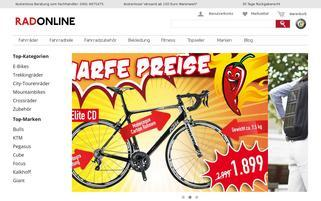 RadOnline Webseiten Screenshot