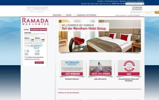 Ramada Webseiten Screenshot