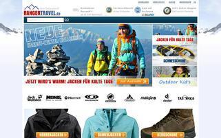 rangertravel.de Webseiten Screenshot