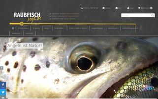 Raubfisch-Jagd Webseiten Screenshot