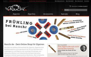 rauchr.de Webseiten Screenshot