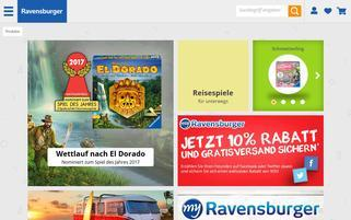ravensburger-shop.de Webseiten Screenshot