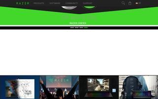 Razer Webseiten Screenshot