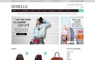 Rebelle Webseiten Screenshot