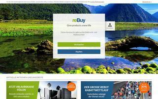 rebuy.de Webseiten Screenshot