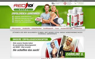 redix-vital.de Webseiten Screenshot
