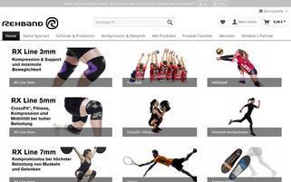 rehband.de Webseiten Screenshot