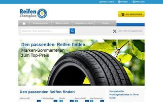 Reifenchampion Webseiten Screenshot