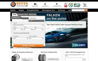 reifendiscount.at Webseiten Screenshot