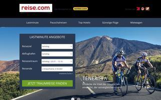 Reise.com Webseiten Screenshot