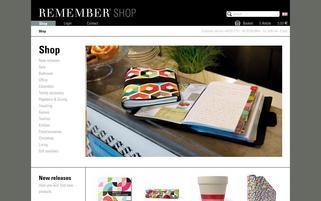 Remember Webseiten Screenshot