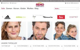 RENO Webseiten Screenshot