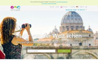 rent-a-guide.de Webseiten Screenshot