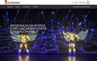 Revierkönig Webseiten Screenshot