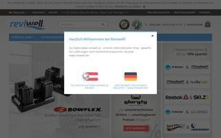 Reviwell Webseiten Screenshot