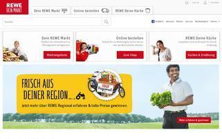 REWE Webseiten Screenshot