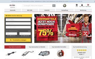Rexbo Webseiten Screenshot