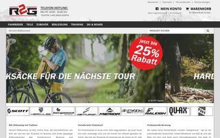 ride2gether Webseiten Screenshot