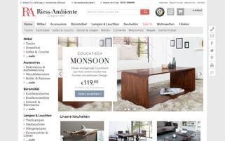 Riess Ambiente Webseiten Screenshot