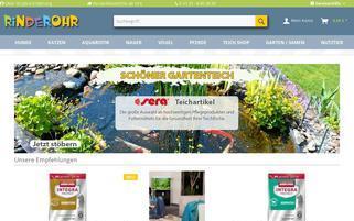 Rinderohr Webseiten Screenshot