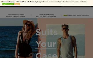River Island Webseiten Screenshot