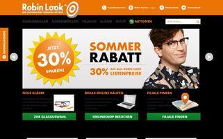RobinLook24 Webseiten Screenshot