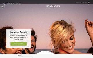 Robinson Webseiten Screenshot