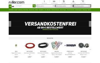 roller.com Webseiten Screenshot