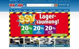 Roller Webseiten Screenshot