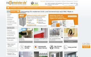 Rollomeister Webseiten Screenshot