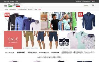 Rossino Webseiten Screenshot