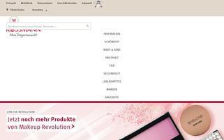 Rossmann Webseiten Screenshot