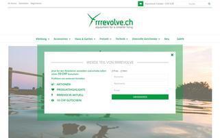 rrrevolve Webseiten Screenshot