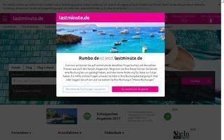 Rumbo Webseiten Screenshot