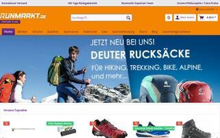 Runmarkt Webseiten Screenshot
