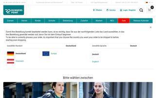 runnerspoint.de Webseiten Screenshot