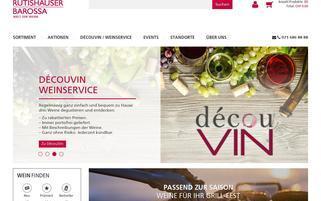 Rutishauser Barossa Webseiten Screenshot