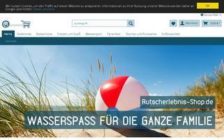 rutscherlebnis-shop.de Webseiten Screenshot