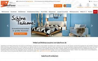 Salesfever Webseiten Screenshot