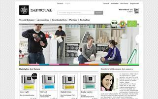 Samova Webseiten Screenshot