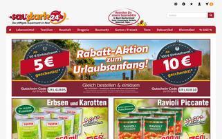 Saustark24 Webseiten Screenshot