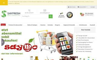 Saymo Webseiten Screenshot