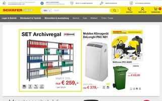Schäfer Shop AT Webseiten Screenshot