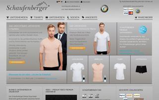 schaufenberger.de Webseiten Screenshot