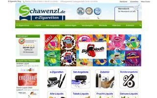 schawenzl.de Webseiten Screenshot