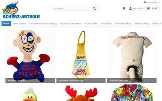 Scherz-Artikel.de Webseiten Screenshot
