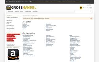 Scherzartikel-Geschenke Webseiten Screenshot
