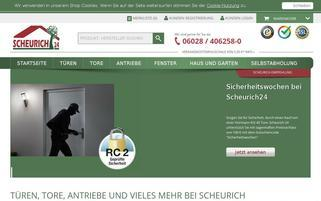 scheurich24.de Webseiten Screenshot